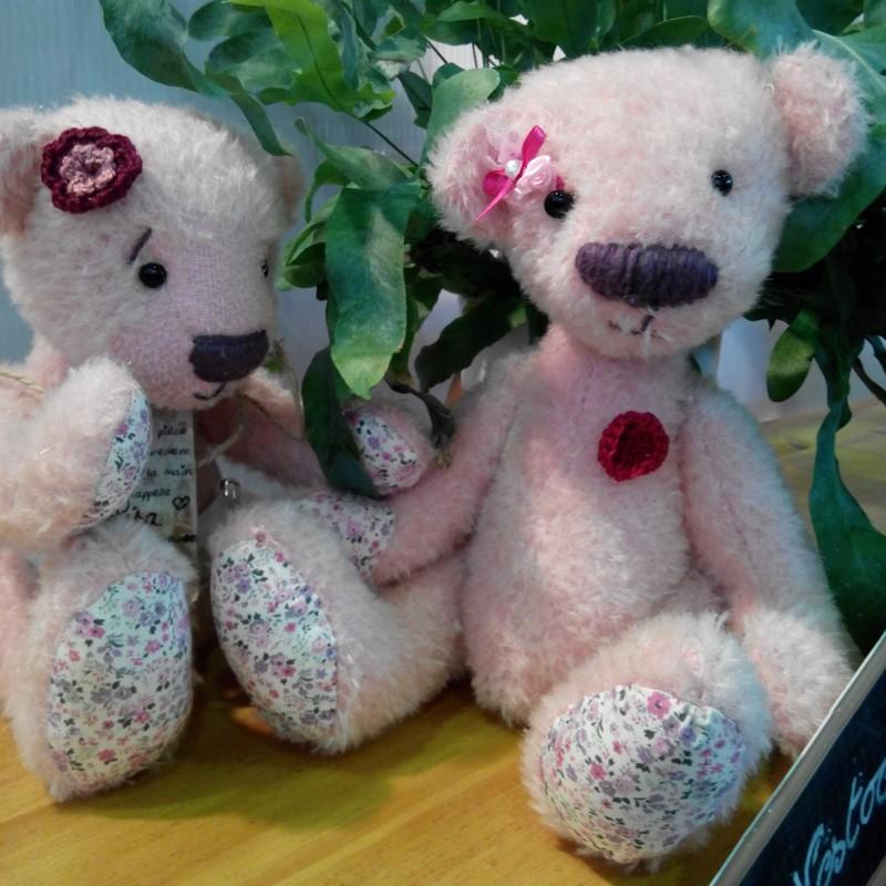 L'ours Fille réalisé par Natacha