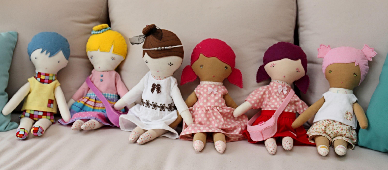 Les poupées sont réalisées par Lysiane