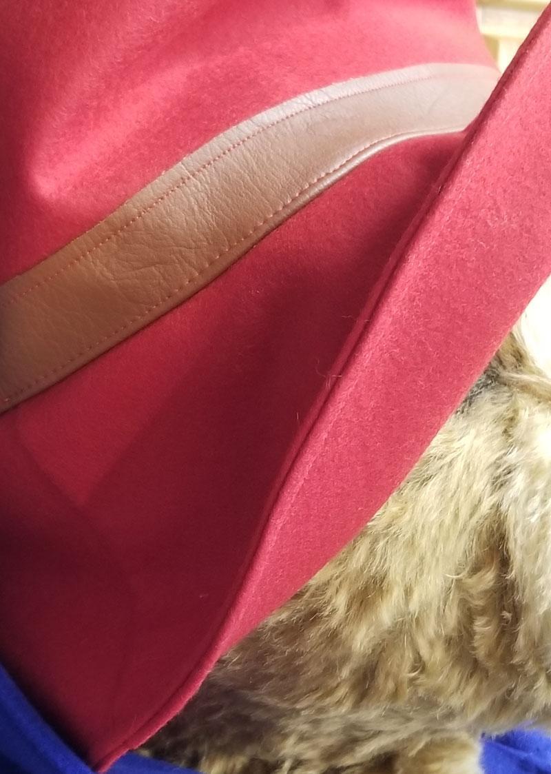 Détail du chapeau