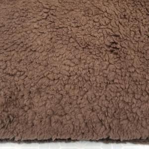 Coton marron foncé +/- 7mm