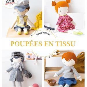 Livre Les poupées en tissu