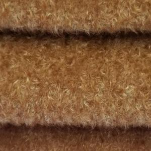 Mohair blond doré chiné +/- 6mm