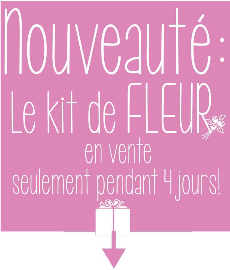Kit fleur 4